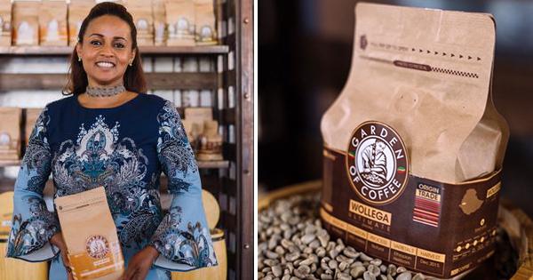 Bethlehem Alemu, founder of Garden of Coffee
