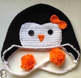 http://www.artedetei.com/2014/03/gorro-pinguino-crochet-patron-en-espanol.html