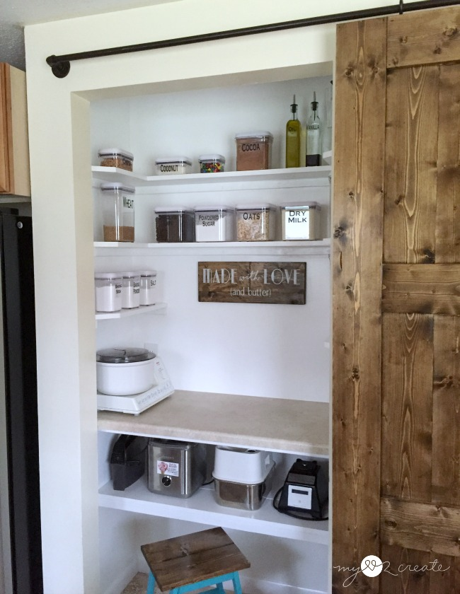 Turn your pantry into a Baking Center My Love 2 Create