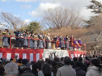 遊行寺の節分祭