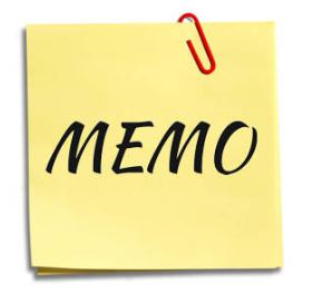 Pengertian Memo Beserta Jenis, Struktur Bagian, Tujuan, Fungsi dan Contoh Memo Lengkap