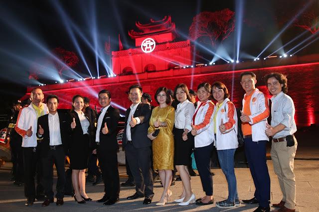 BRICS VIỆT NAM tham dự Lễ trao quyền đăng cai Giải đua Công Thức I