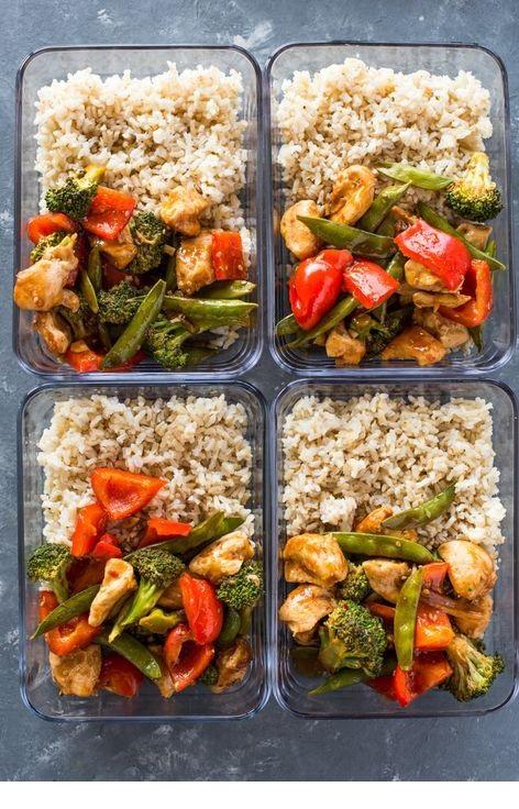 Healthy Sweet Chili Chicken & Veggies
