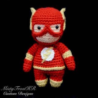 PATRON FLASH GORDON AMIGURUMI 27593