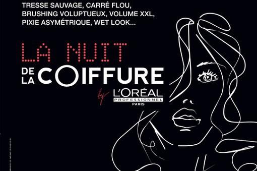 2eme édition de La nuit de la coiffure de l'Oréal Professionnel
