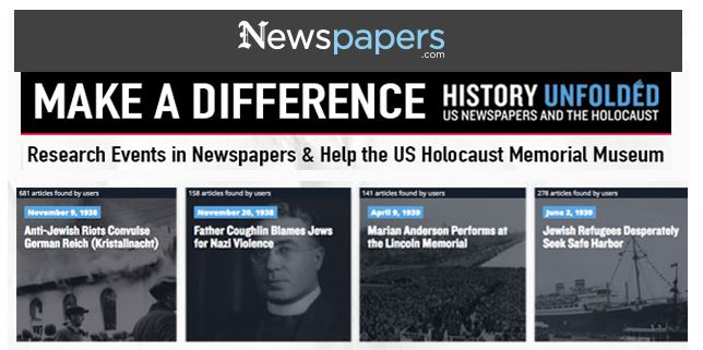 UpFront with NGS: History Unfolded -- US Newspapers and ...
