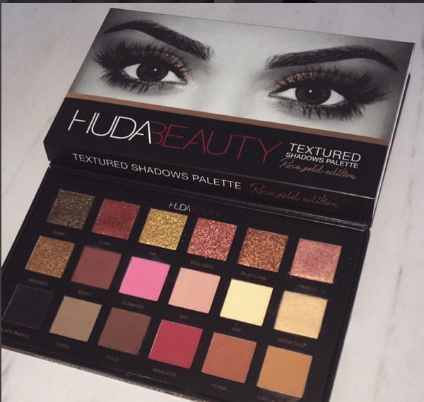 Huda Beauty Textured Shadow Palette