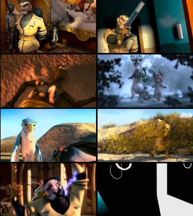 The Missing Lynx 2008 Dual Audio Hindi BRRip 480p