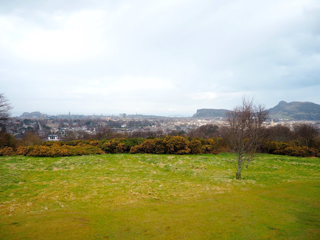 View from Blackford Hill, Edinburgh hidden gems