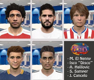PES 2016 International Facepack by Adit25