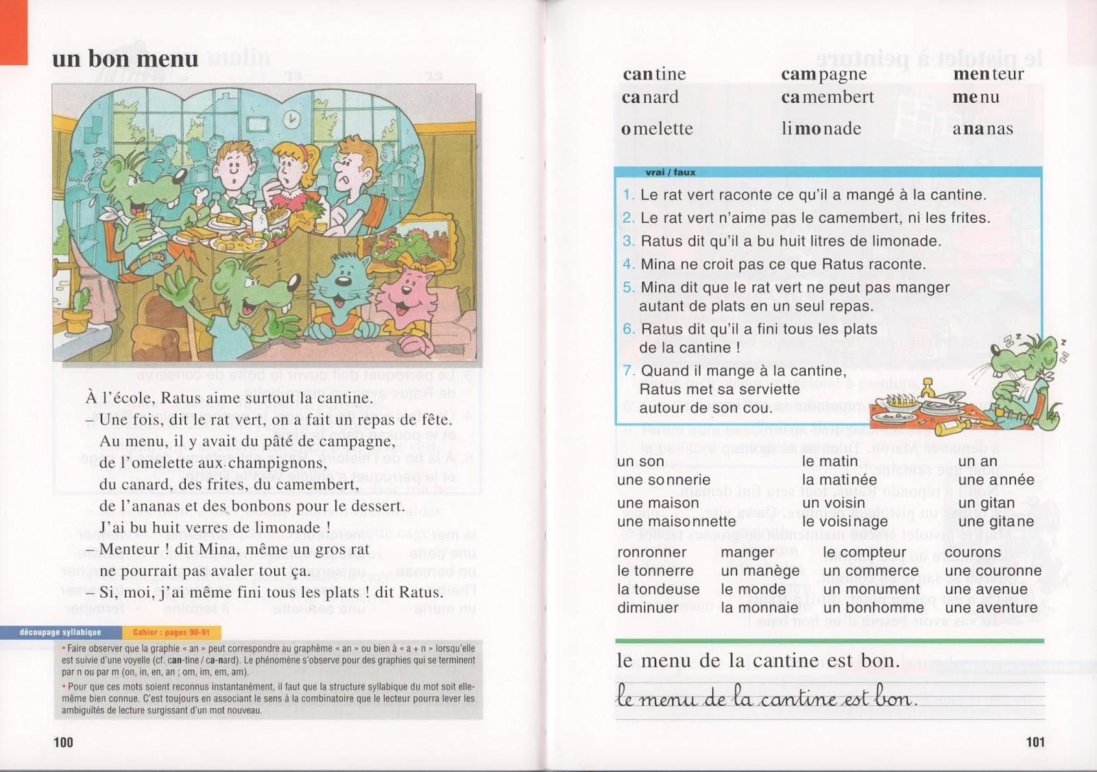 école : références: Ratus et ses amis CP (1994) : grandes ...