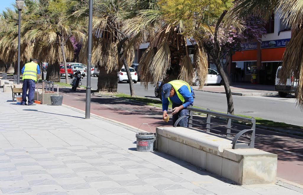 Motril digital el rea de mantenimiento agricultura - Mantenimiento parques y jardines ...
