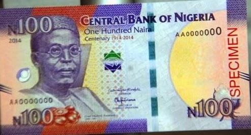 Photos Illuminati 666 Symbol On New Nigerian N100 Naira Note Calls