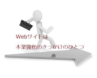 Webサイトは本業強化のきっかけのひとつ