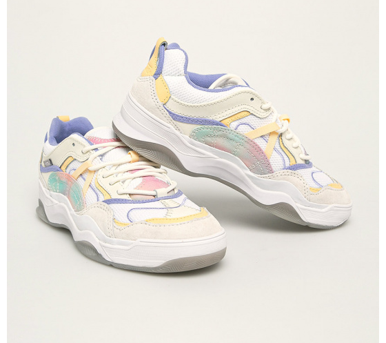 Vans - Pantofi sport dama piele intoarsa naturala multicolori la reducere
