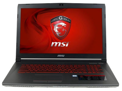 Specification GV72 8RE | MSI