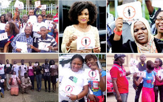 child+marriage - PHOTOS: Nigerians Protest Over 'Child Marriage' Law