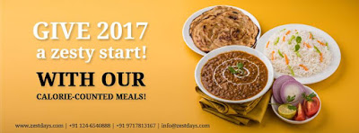GIVE 2017 a zesty start! WITH OUR CALORIE-COUNTED MEALS! AND HEALTHY BREAKFAST
