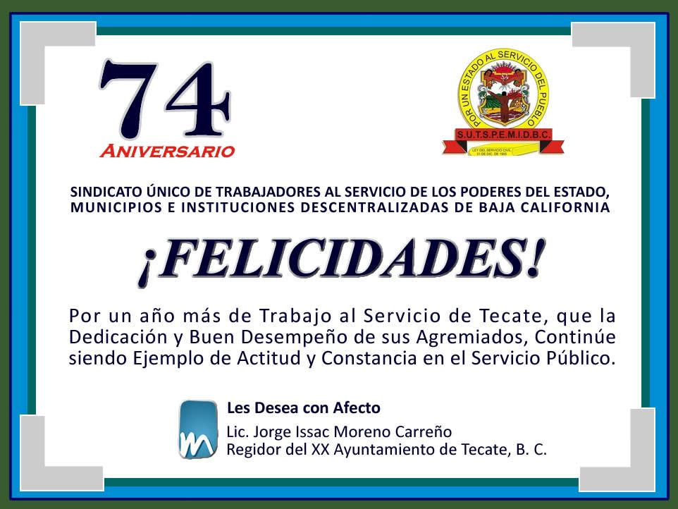 Carta De Felicitacion Por Aniversario De Institucion