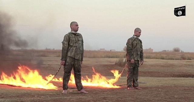 ISIS Membakar Dua Tentara Turki Yang Ditanggap Di Aleppo