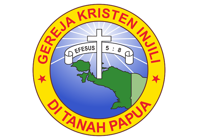 Logo Gereja Kristen Injili Tanah Papua Vector