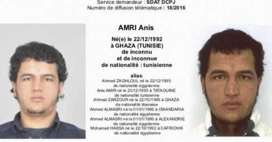The Anis Amri Timeline: How German Authorities Allowed a Well-Known Terrorist Suspect to Strike Berlin