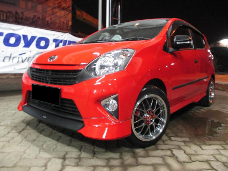 Galeri Foto Modifikasi Mobil Toyota Agya Terbaru  Modif