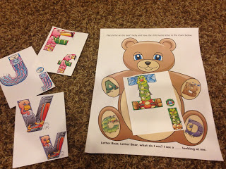 brown bear letter review