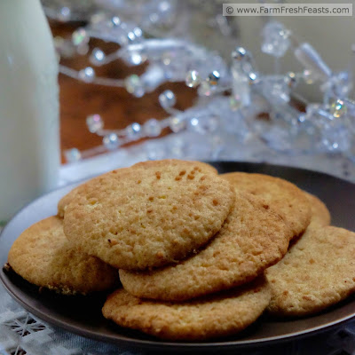 Pure maple syrup sweetens these seasonal treats. Rolled in a maple sugar and cinnamon coating, this refined sugar free version of the classic Snickerdoodle celebrates the bounty of a northern winter.