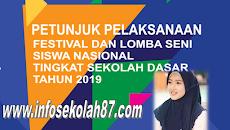 Juknis Festival danLomba Seni Siswa Nasional (FLS2N-SD) Tahun 2019