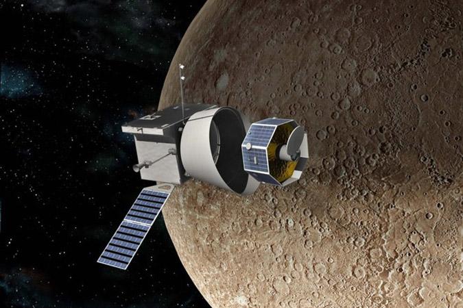 Penelitian ESA and JAXA Prepare BepiColombo Spacecraft for 7-year Journey to Mercury