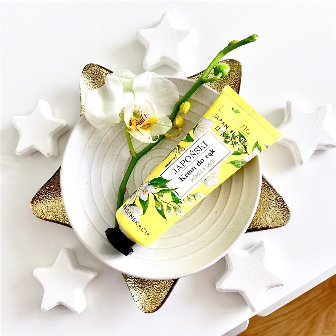 Bielenda Japan Beauty japoński krem do rąk, Regeneracja jaśmin + sake