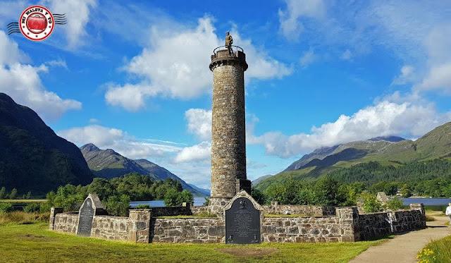 Escocia, Monumento de Glenfinnan