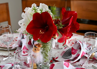 Valentine's Inspired Tablescape