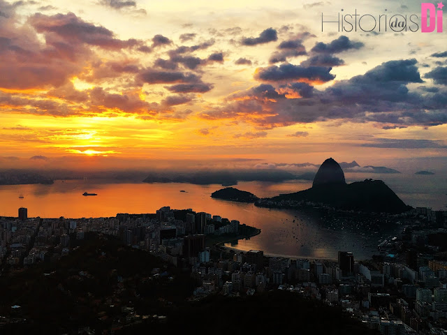 Que lindoooooo - nascer do sol do Mirante Dona Marta