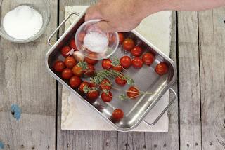 tomates cherry asados paso 2
