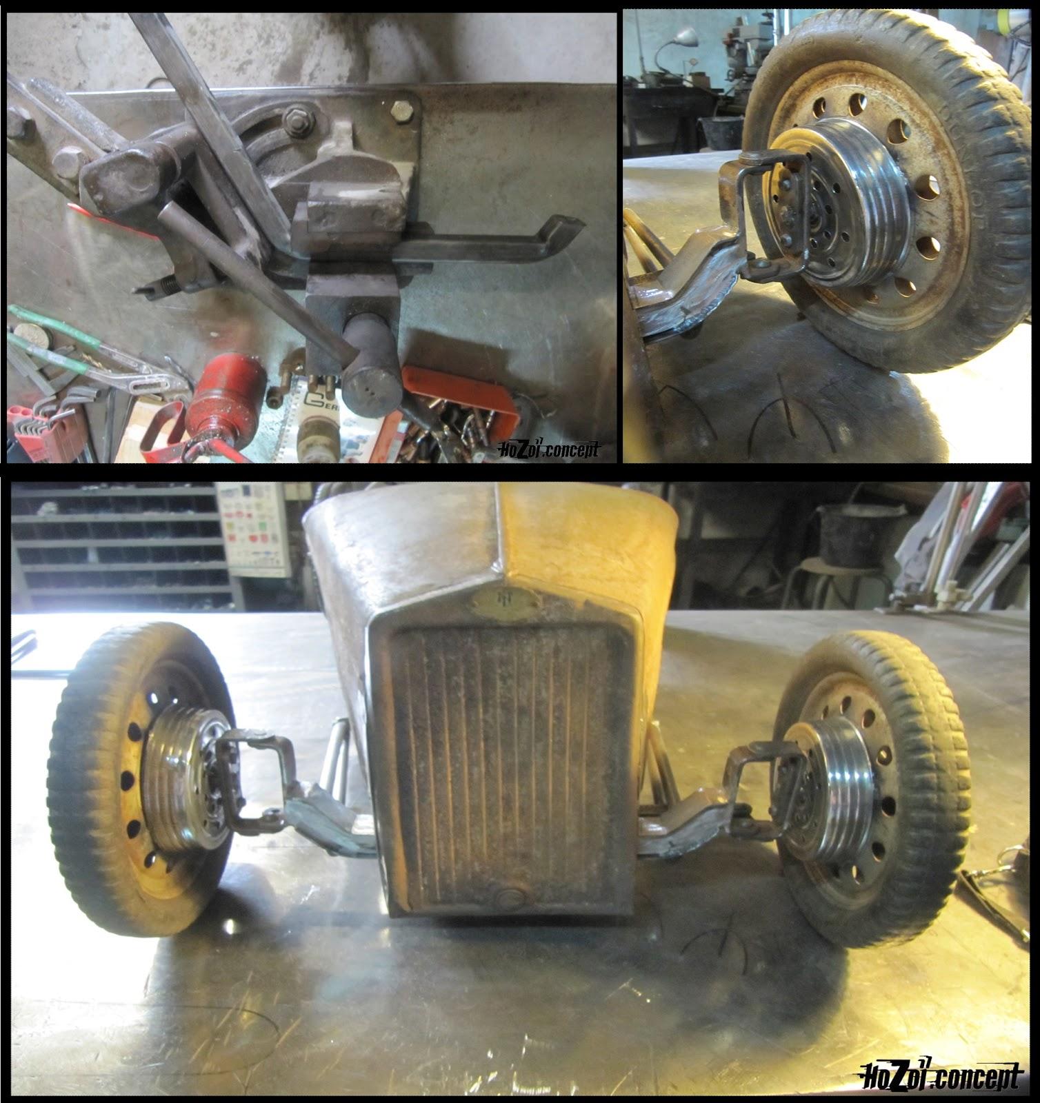 Sans Titre on Rat Rod Pedal Car