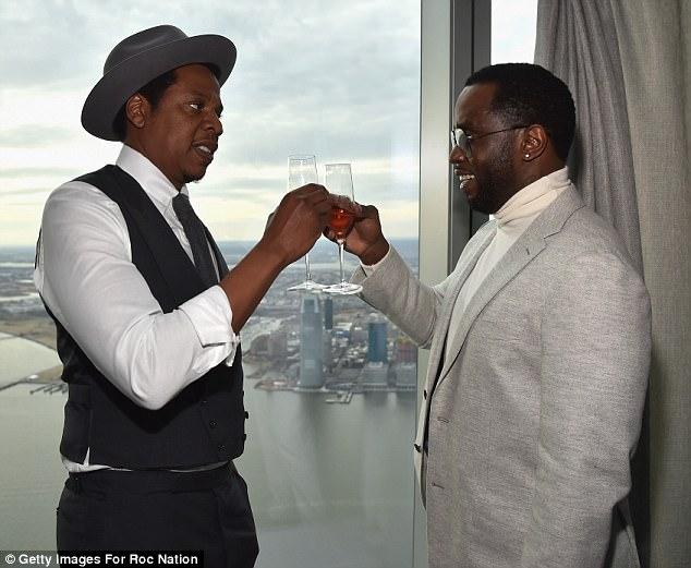 Jay-Z-Diddy-Roc-Nation-Brunch-Pre-Grammy-party-2