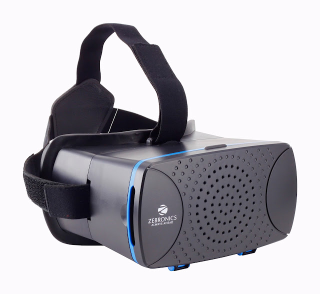 Zebronics launches Virtual Reality 3D for Smartphones with ZEB-VR Headset