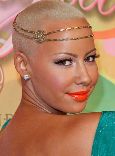 Cool Cool And Cool Amber Rose New Hairstyle Short Hairstyles Gunalazisus