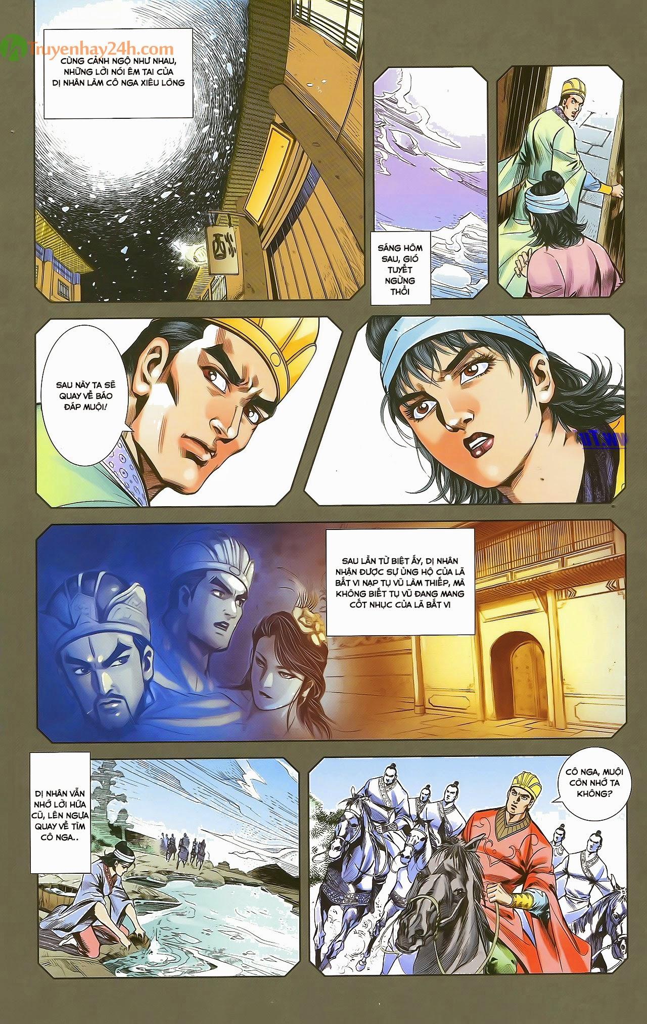 Tần Vương Doanh Chính chapter 29.1 trang 15