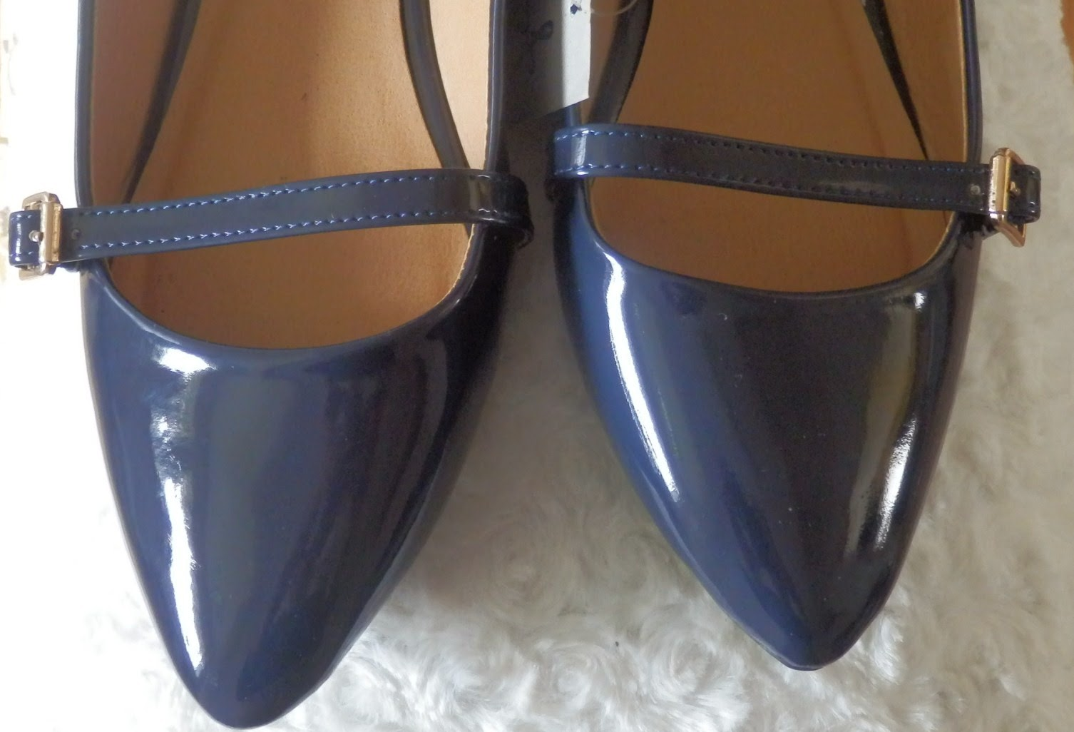 Primark Blue Patent Shoes