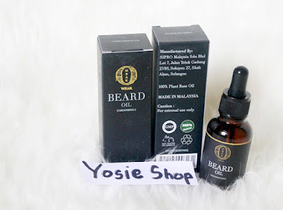 Penumbuh Kumis dan Brewok Paling Ampuh Ombak Beard Oil Terbaru Original Malaysia Harga Murah