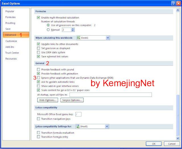 Cara Membuka File Exel Yang Tidak Bisa Dibuka