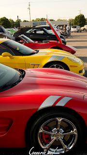 Chevrolet C5 C6 Corvettes Hash Stripes