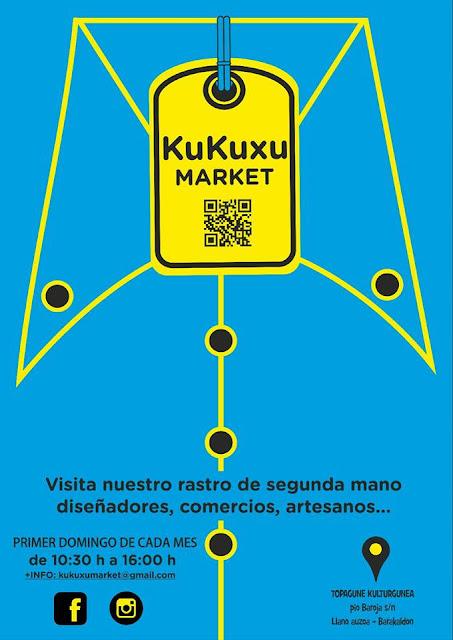 Cartel del nuevo mercado de segunda mano
