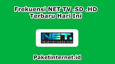 Frekuensi NET TV SD HD