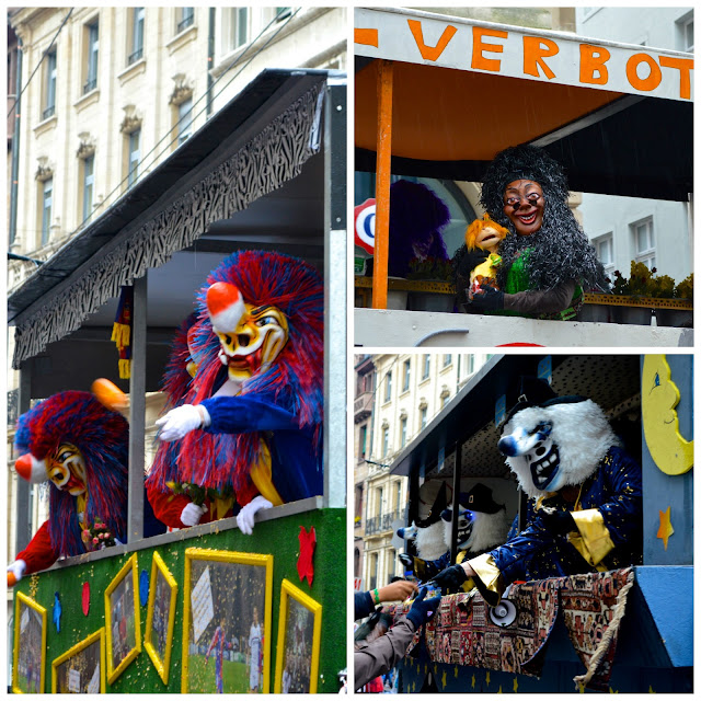 Sleachmour Adventures, Fasnacht, Floats with Treats