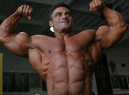 Ahmad Haidar Biceps Workout