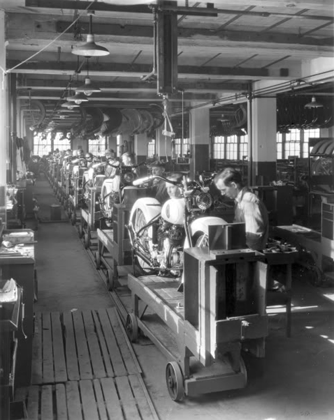 Harley Motorcycles For Sale >> A Look Inside the Harley-Davidson Factory of Yesteryear - Riding Vintage
